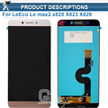 Original quality For LeEco Le max2 x820 X823 X829 LCD Display Touch Screen Digitizer Assembly For LeEco Le max 2 phone