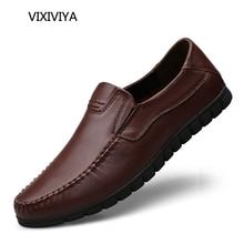 2018 წლის ახალი მოდის მამაკაცის ფეხსაცმელი ნამდვილი ტყავის ამოსუნთქვი მარყუჟები მამაკაცის ფეხსაცმლის ახალგაზრდობა მართავს და მუშაობს მამაკაცებისთვის ოთხი სეზონური ჩვეულებრივი ფეხსაცმელი