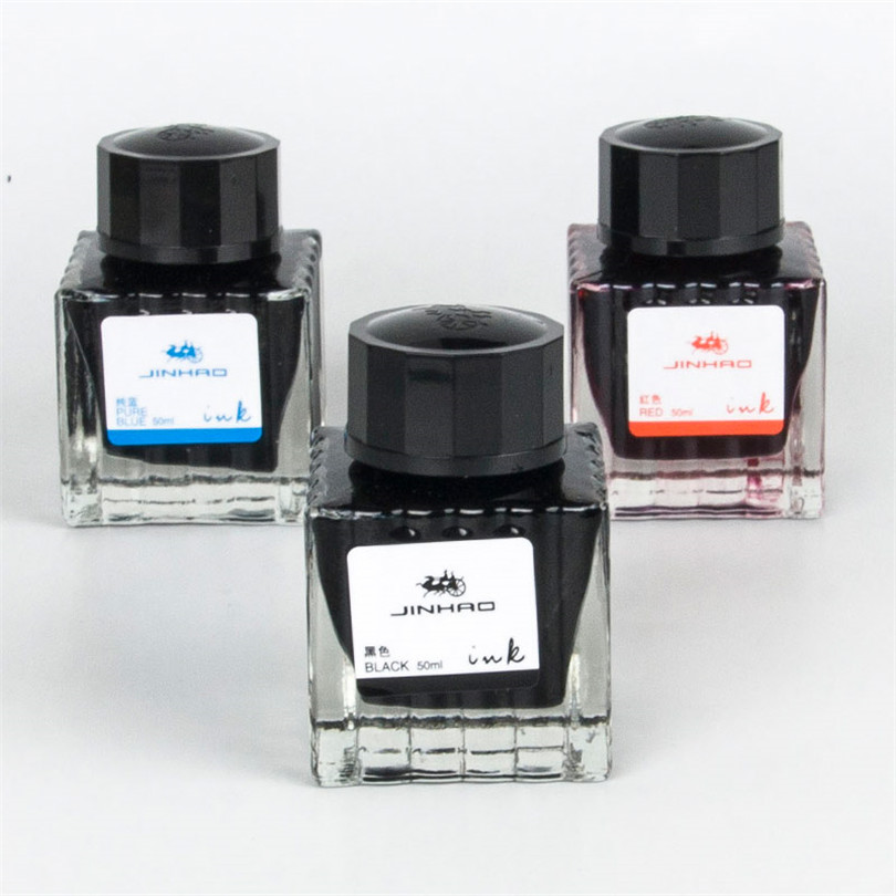 Fountain Pen Ink Bottled 50ML Colors Portable Pen Ink Quality Is Not Hurt Pen