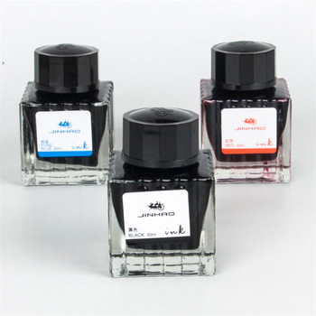 Jinhao Fountain Pen Ink Bottled 50ML Colors Portable Pen Ink Quality Is Not Hurt Pen