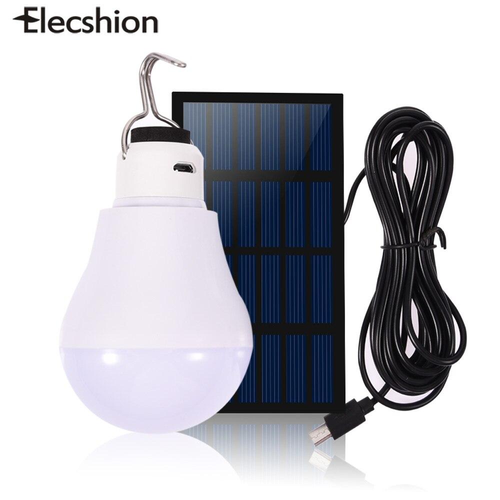 Elecshion LED энергии Солнечный Мощность светодиодные лампы везде свет Наружное освещение солнечного света Беспроводной стеной сад путь улица Палатка лампы