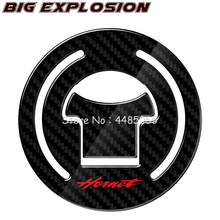 For HONDA CB250 Hornet 1997-2011 CB600 1998 -2002 motorcycle decals 3D Carbon Fiber Motorcycle Oil Fuel Gas Cap Cover Decal
