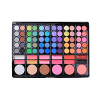 New 78 Colors Nautral Eyeshadow Eye Shadow Cosmetics Mineral Make Up Professional Shimmer Makeup Pigment Palette