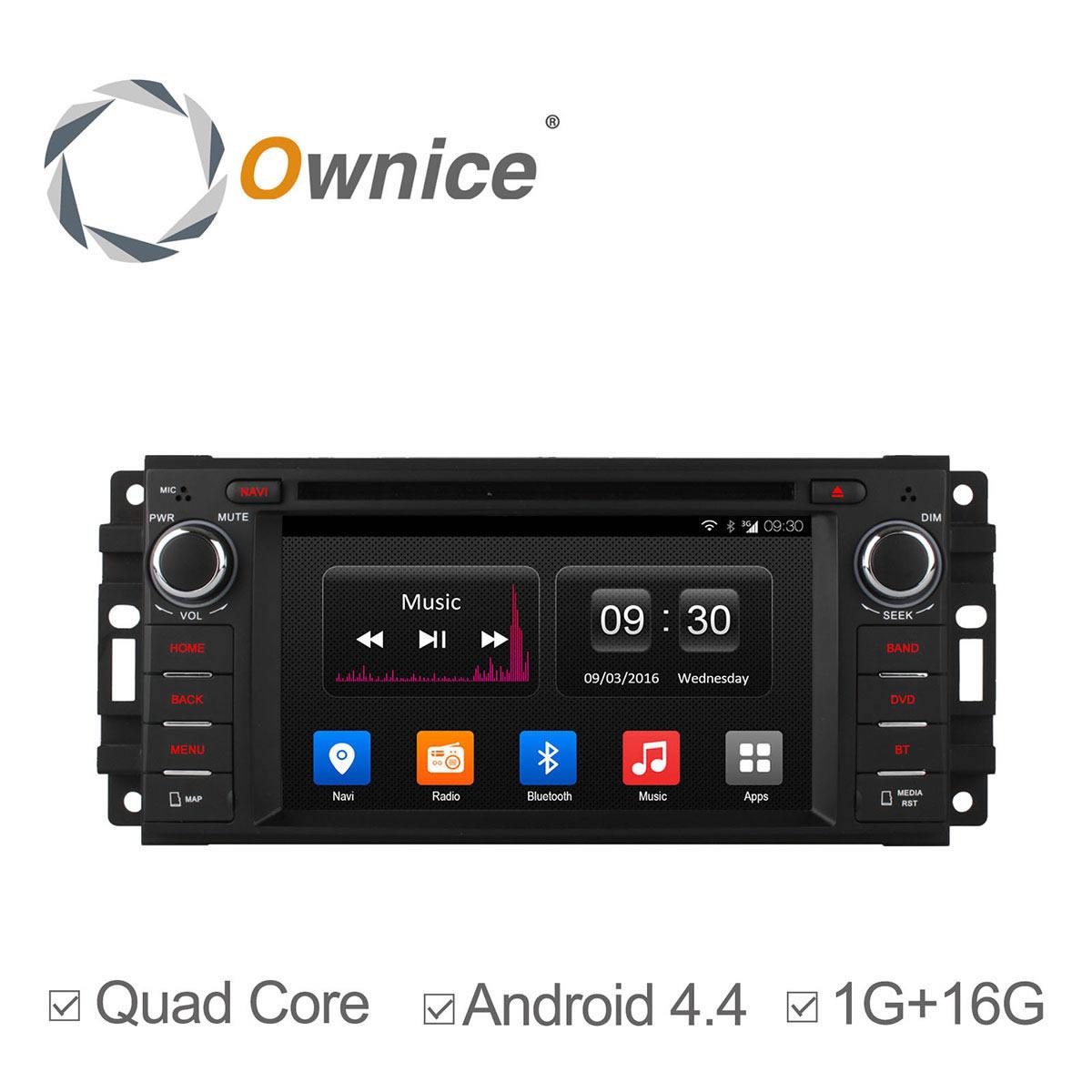2006 Chrysler 300 C Sedan 4: Ownice Android 4.4 Stereo Quad Core Car DVD GPS Radio For