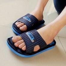 2015 Summer slippers Men Casual Sandals, Leisure Soft Slides,EVA Massage Beach sandals slippers Men shoe Size40-45 free shipping