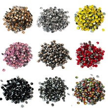 Hot fix Rhinestones DIY Iron On Strass SS6 SS8 SS10 SS12 SS16 SS20 SS30 Colors Hot Crystal Glass Stone for Gymnastics Costumes ss6 ss10 ss16 ss20 ss30 jonquil color dmc iron on rhinestones hot fix crystal rhinestones strass sewing