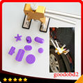 8pcs/set High PDR Glue puller tabs Professional Car vehicle Dent repair Tools Paintless Dent Remova+ dent lifter PDR Toolkit