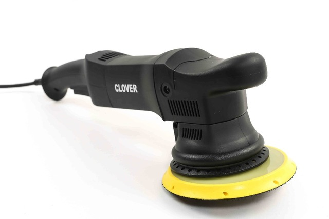 """Dual Action Polisher 21mm random orbital 900w DA with 5"""" and 6"""" backing pads"""