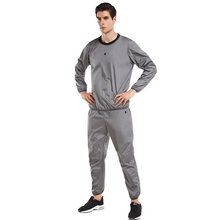 Sueur chaude Costume de Sport pour Hommes de Sport À Manches Longues  Chemises + Pantalon 2 pcs Course à Pied Entraînement Ensemb. c468c0be6ae