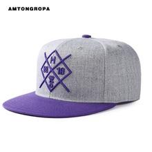 2017 new hat female hip hop hat male spring flat cap sun shade alphabet fashion street hat baseball cap