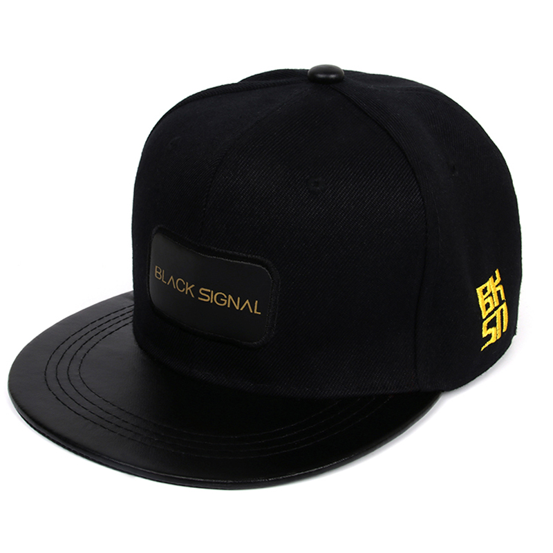 Black Snapback Cap Men Hip Hop Baseball Cap Men Summer Baseball Caps Fashion Hats For Men Women Casquette Bones Gorras Flat 2017