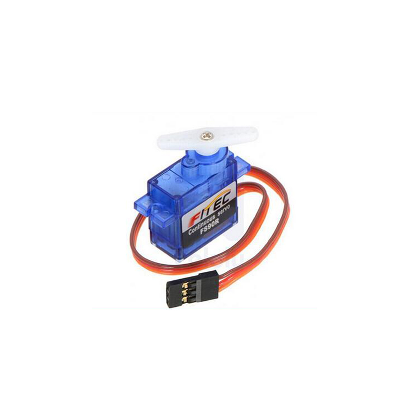 RCmall Feetech FS90R Servo 360 Degree Continuous Rotation Micro RC Quadcopter Servo For RC Car Boat Robot FZ0101-01