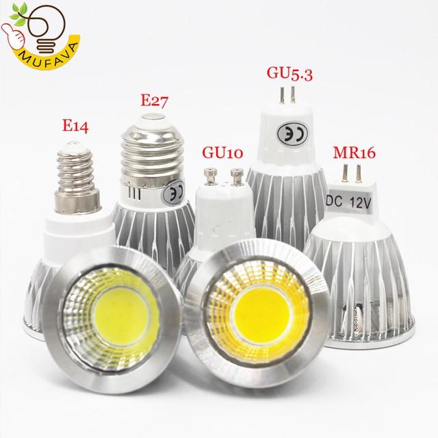 Inamp; Gu10 Bright 3w 5w E27 12v Cob Light Led ultra Us1 24 E14 Bulbs 7w Mr16 15Off Spotlight Bombillas Ac85~265v Lamp Lamparas qUSzVMp
