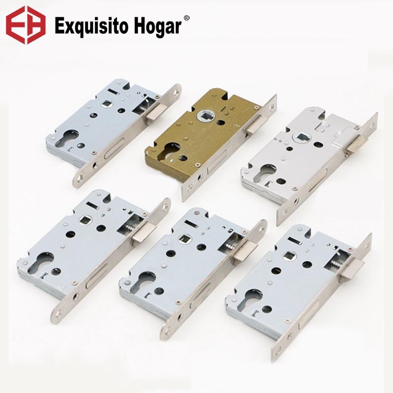Door Lockcase  Lock Core Pressure Lock Handle Lock Indoor Door Lock 50 Lockbody Double  Hardware Extension