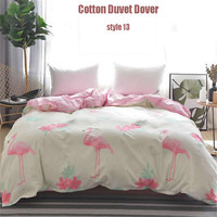 free shipping twill print cotton 1pc multi size quilt cover quality bedding cover duvet cover for king/ queen/ full/ twin size