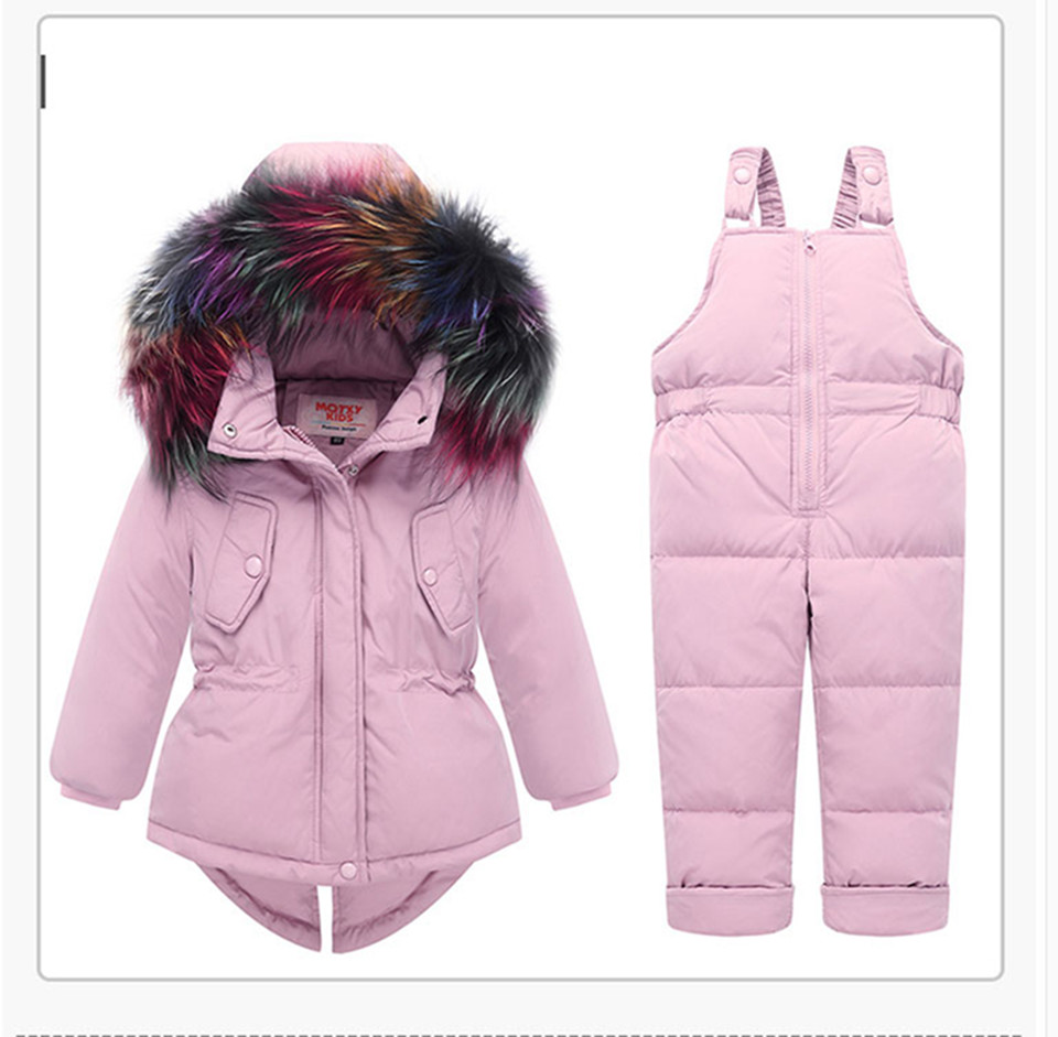 1-3-_19  Kids's Clothes Winter Lady Go well with Ski Jacket -30 Diploma Russian Boys Ski Sports activities Down Jacket +Jumpsuit Units Thicker Overalls HTB14yXVlrArBKNjSZFLq6A dVXaQ