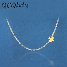 Simple Alloy Birds Necklace Clavicle Chains Charm Womens Fashion Jewelry Necklace for Women Hot