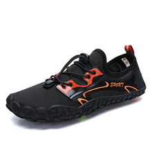 Five Finger Summer Swimming Shoes for Diving Quick-drying Outdoor Aqua Shoes for Men Non-slip Beach Water Shoes Hot Sale breathable quick drying aqua shoes mujer for beach women men five fingers water shoes unisex outdoor sneakers swimming shoes