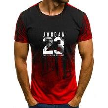 Nuevo verano hombre caliente es Jordan 23 T camisas hombres camuflaje cuello de moda impreso 23 hip-hop camiseta Camisetas de los hombres top Casual