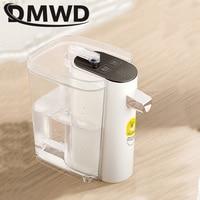 DMWD Mini Instant Hot Water Heating Dispenser Portable Travel Desktop Heating Pump Gallon Drinking Bottle Boiler Electric Kettle