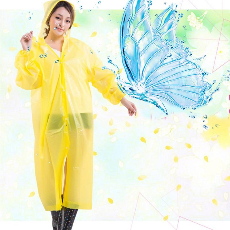 Žene Kišni kaput Krovni pokrivač Vodootporni Prozirni kišni - Kućanski robe - Foto 2