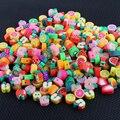 Бусины из полимерной глины, 50 цветов
