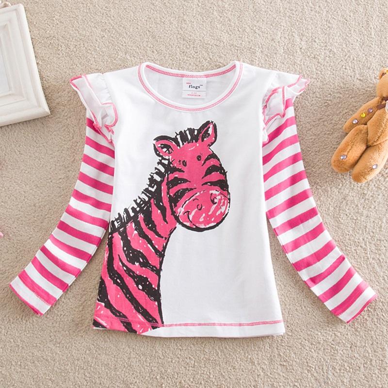 HTB14yYOSFXXXXcmapXXq6xXFXXX1 - Girls Long Sleeve All Year T-Shirt, Long Sleeve, Cotton, Various Designs and Prints