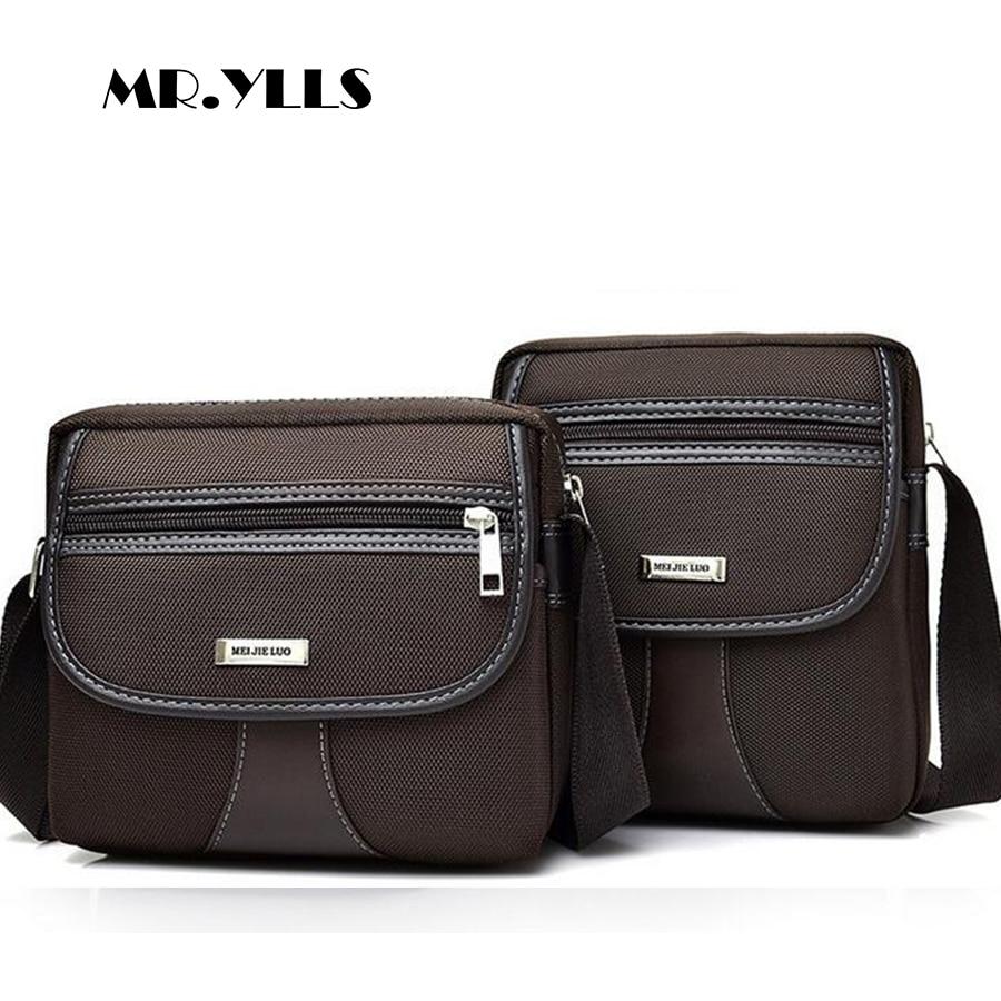 cc96cbb770 YLLS Men Business Fashion Oxford Shoulder Bags Casual Zipper Male Messenger  Bag High Capacity