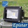 DHL Fedex 50 Вт Светодиодный прожектор уличный черный Наружный настенный светильник садовый двор парк квадратный проектор поиск индустриальный...
