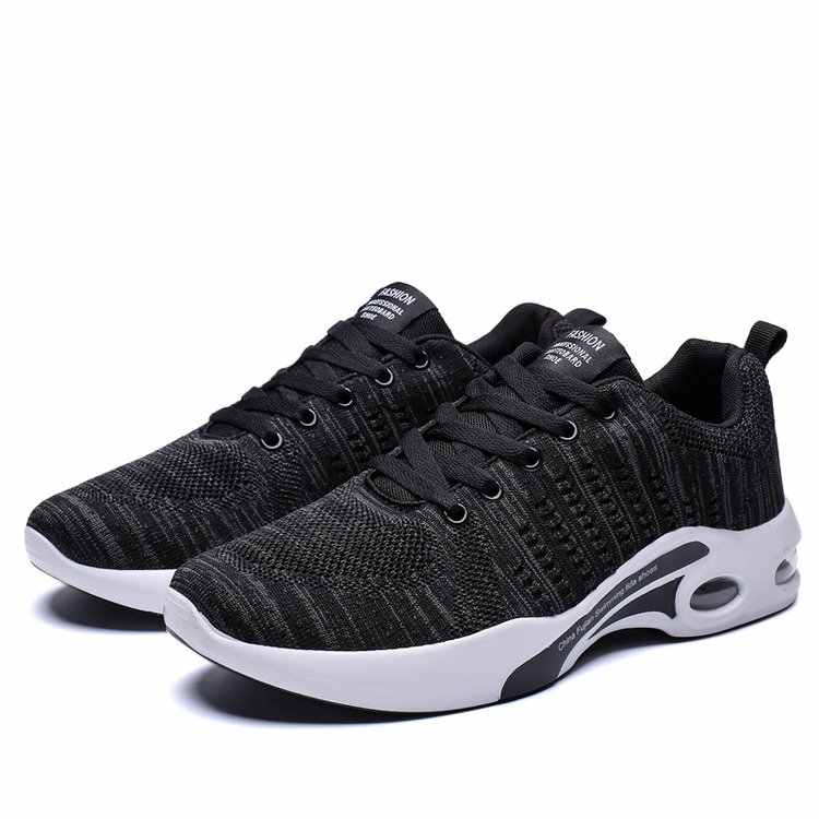 2019 Man Black White Shoes Men Sneakers Zapatos Corrientes Chaussure Zapatillas shmh02