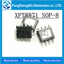 10pcs lot New XPT8871 8871 SOP 8 Class AB 5 w power amplifier distortion audio power