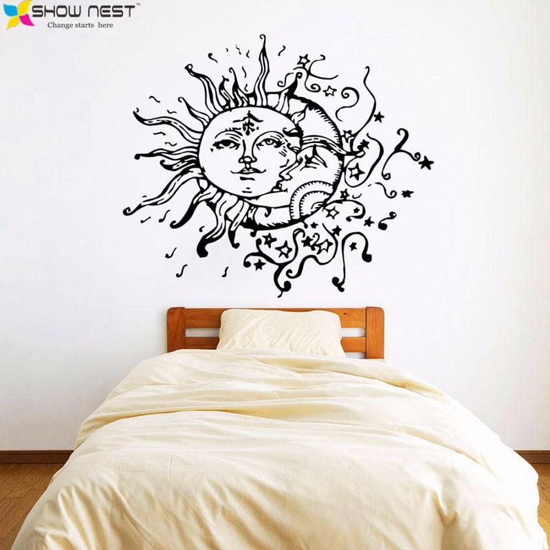 Indian Sun Moon Tapestry Mandala 130 150 200cm Abstract Wall