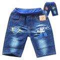 2016 Poli Robocar Babys Boy Jeans Short Robocar Poli Child Denim Short Cartoon Clothes Summer Children Clohing 2-8yrs Kids Wear