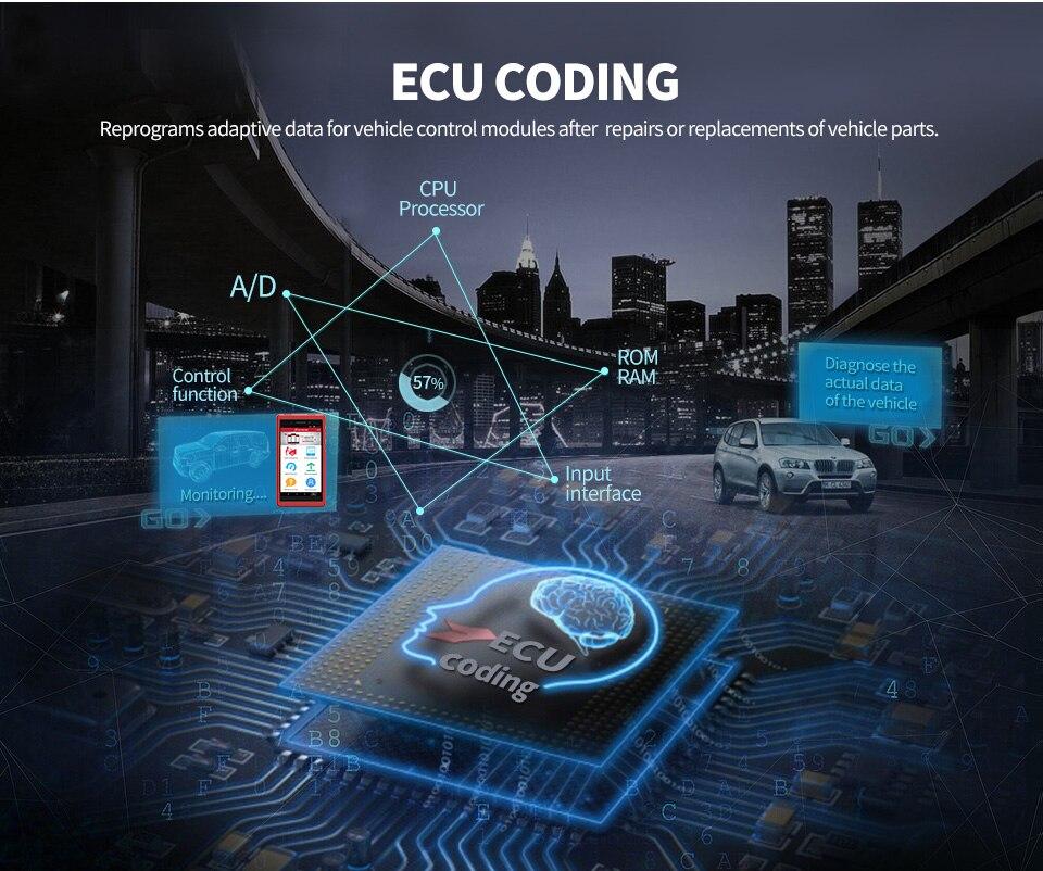 Image 2 - Авто инструмент диагностики Launch X431 Pros Mini с 6.8'' экран PC Поддержать Wi Fi/Bluetooth полные системы Бесплатное 2 год онлайн обновление-in Тестеры аккумуляторов from Автомобили и мотоциклы