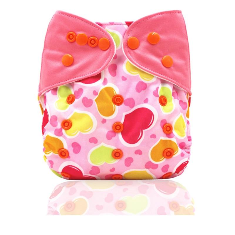 Pañales de tela de bebé reutilizables Bolsillos de la cubierta de - Pañales y entrenamiento para ir al baño - foto 6