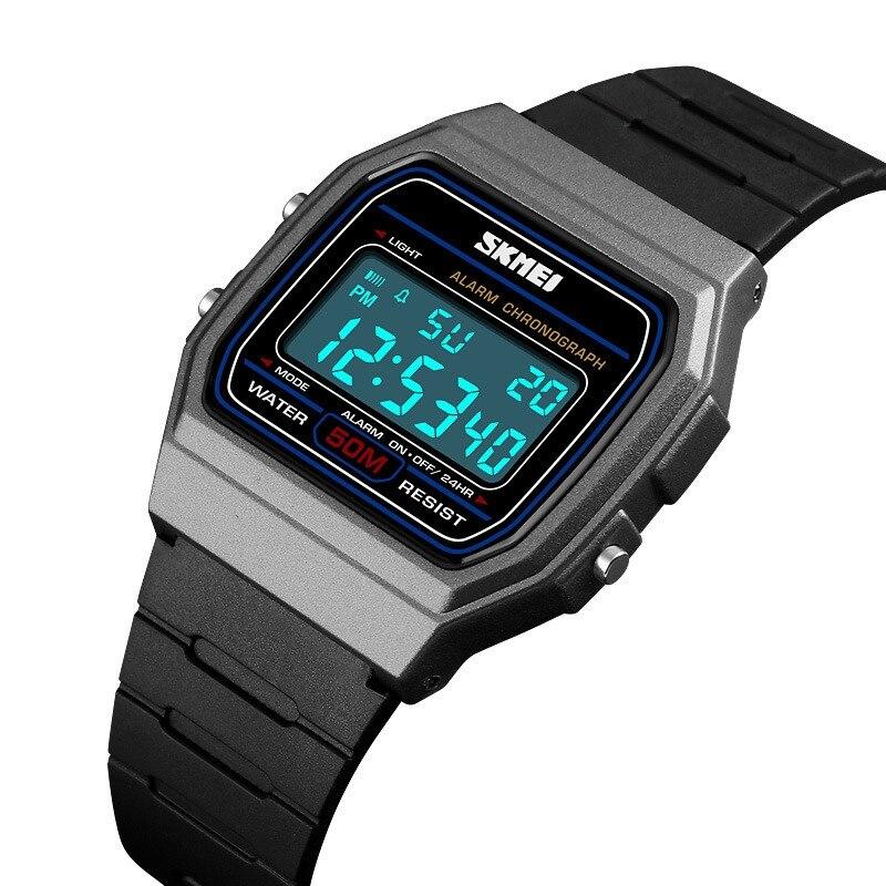 Reloj electrónico LED de marca XINJIA para hombre a5628172015c