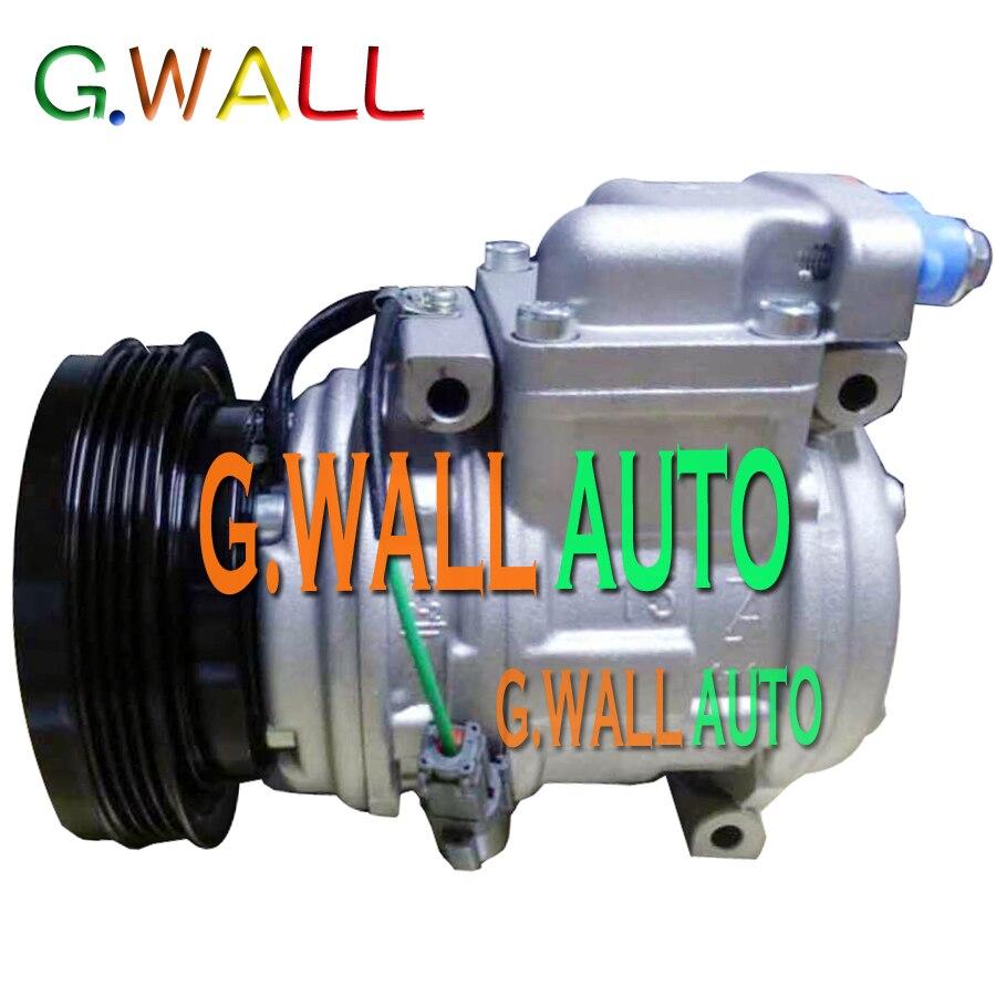 Haute qualité 10PA15C AC compresseur pour Daewoo solaire V pelle Doowon 2208-6013 22086013 2208-6013A 22086013A 24 V 4PK