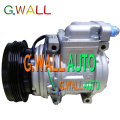 High Quality 10PA15C AC Compressor For Car Daewoo Solar V Excavator Doowon 2208-6013 22086013 2208-6013A 22086013A 24V 4PK