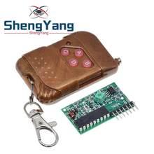 ShengYang – Kit de télécommande sans fil M4, 1 ensemble = 2 pièces, 2262/2272, récepteur de verrouillage avec 4 clés