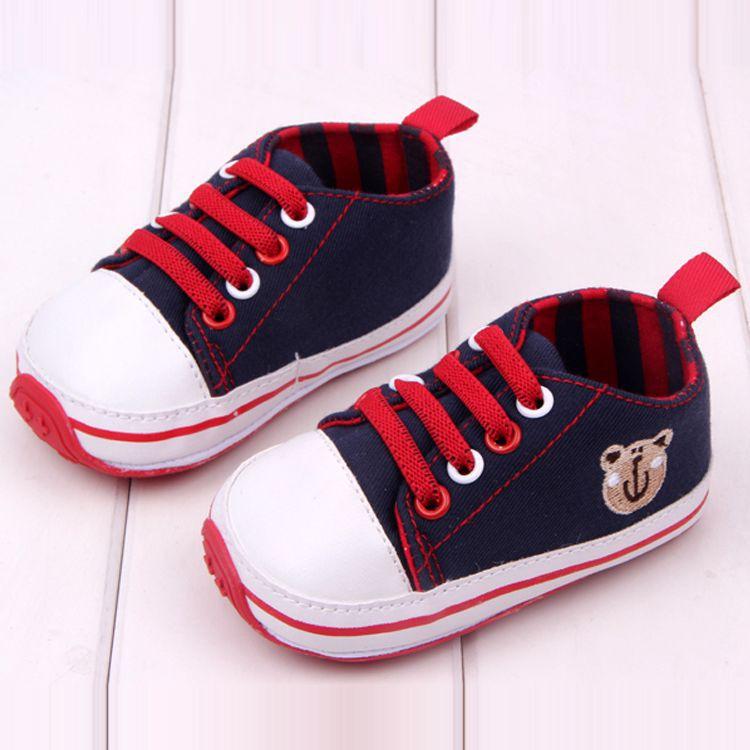 Baby First Walkers Tempo libero Toddler Shoes Suola in gomma Baby Sneakers Marchio di scarpe da bambino al dettaglio più nuovo marchio originale