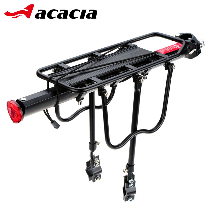 цена на ACACIA Bike Rack Aluminum Alloy 35KG Luggage Rear Carrier Trunk for Bicycles MTB Bike Rear Shelf Cycling Bicycle Racks
