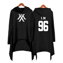 Drop shopping Monsta x dress fashion 2019 women Hooded sweatshirt Monsta x kpop clothes pullover