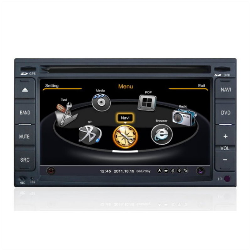 Radio de coche Para Nissan Juke 2010 ~ 2013 Audio Video Stereo CD Reproductor de