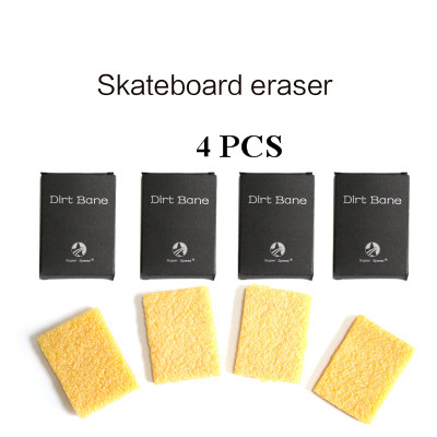 Skateboard Griptape Cleaner Eraser Longboard Accessories Cleaning Tool 51x32x6mm