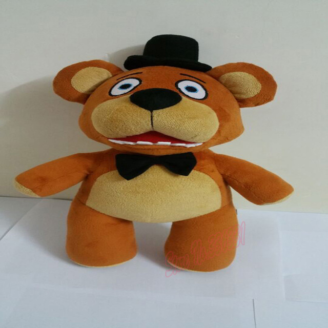 "In Stock Build A Bear 35cm/14"" By Nightmaren Five Nights At Freddy's 4 FNAF Freddy Fazbear Bear Plush Toys Dolls Free Shipping"