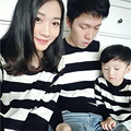 1 Piece Family Look 2017 Spring Autumn Sweater T Shirts Family Matching Outfits Father Mother Kids Clothing Outfits
