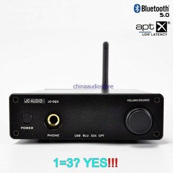 Alta fidelidade ak4490 usb dac placa de som cs8670 bluetooth 5.0 APTX-HD dac jogador akm4118 receptor fone de ouvido amplificador all-in-one dac