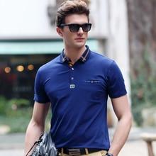 Men polo 2017 summer high quality polo shirt brand Lycra Cotton business casual Solid polo shirt  Men's clothing polo ralphmen