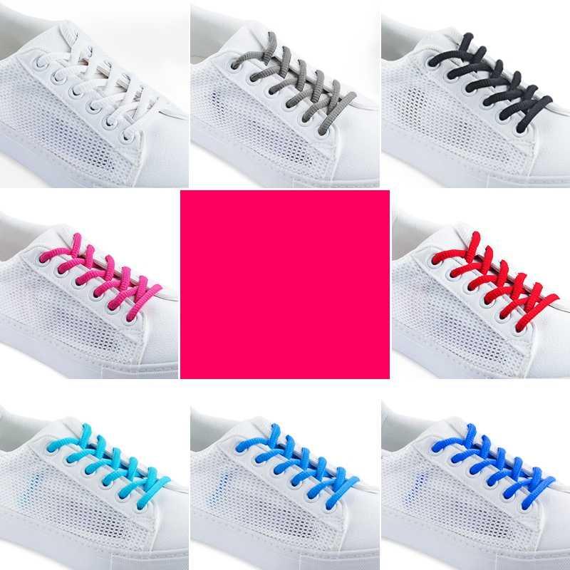 1 пара/классические круглые шнурки высокого качества для отдыха шнурки для спортивной обуви уличные мужские и женские шнурки модные разноцветные