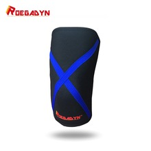 Stiff Compression Neoprene Knee Support Sports for Compression During Bar Weightlifting,Powerlifting and CrossFit, Knee Sleeve